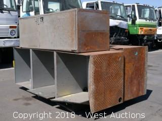 (3) Steel Utility Boxes