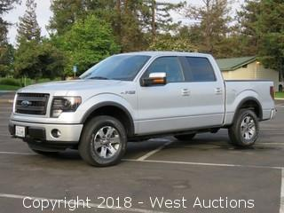 2013 Ford F-150 FX4 4x4 SuperCrew Cab Pickup Truck