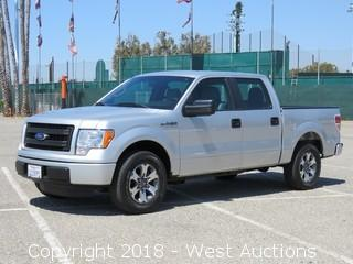 2014 Ford F-150 XL Supercrew Cab Pickup Truck
