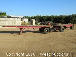 (2) Utility 24' Trailers