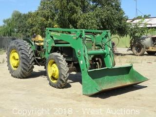 John Deere 2750 4x4 Tractor With Front Loader