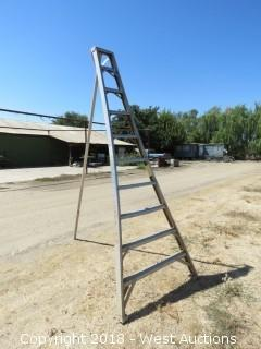 10' Aluminum Orchard Ladder