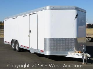 2014 Featherlite 24' Enclosed Aluminum Mobile Shop/Office Trailer