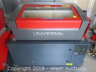 2014 Universal Laser Systems VLS350 24x12 Laser System with Fume Extractor (Not Working)