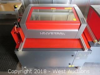 2014 Universal Laser Systems VLS350 24x12 Laser System with Fume Extractor
