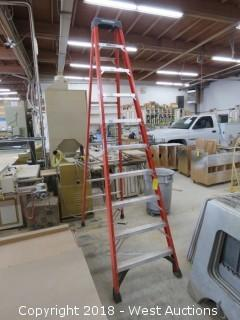 Warner 10' Fiberglass Ladder