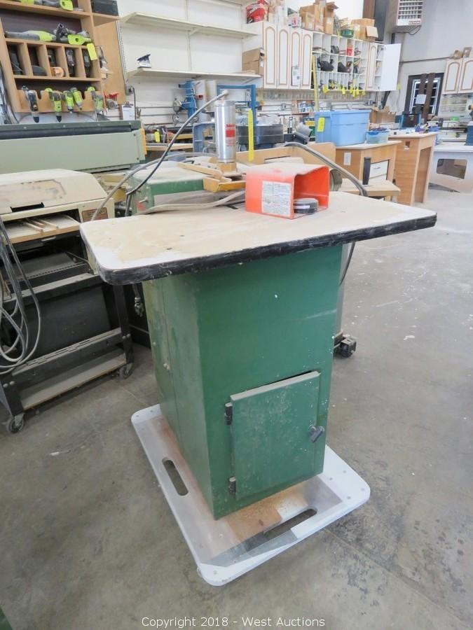 West Auctions - Auction: Online Auction of Woodworking Tools
