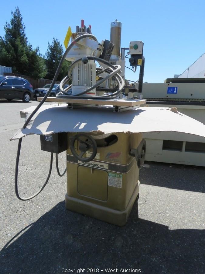 Online Auction of Woodworking Tools from Custom Cabinetry Shop in Northern California