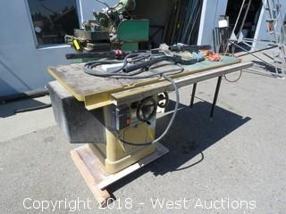 "10"" Powermatic Tablesaw"
