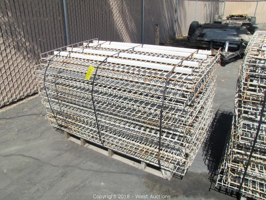 West Auctions Auction Pallet Racking And Shelving