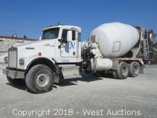 2007 Kenworth W900 Mixer Truck with McNeilus 11 Cy Mixer