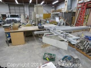SCMI Hydro 3200 Sliding Table Panel Saw