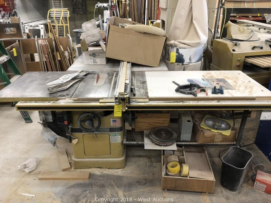 West Auctions Auction Online Auction Of Woodworking Tools From