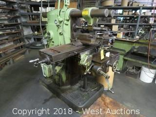 Brown And Sharpe Horizontal Milling Machine