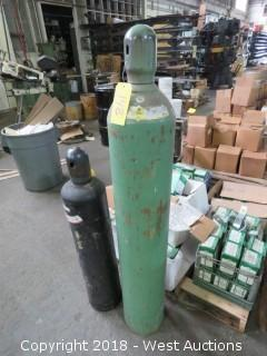 Compressed Oxygen Tank
