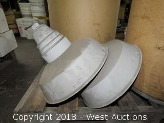 (2) Light Bulb Cases