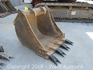 """Bobcat 24"""" Excavator Bucket"""