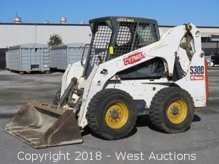 Bobcat S300 Skid Steer with Bucket