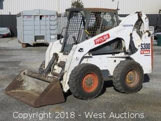 2007 Bobcat S300 Skid Steer with Bucket