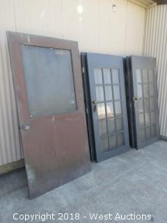 (10) Units of Vintage Doors