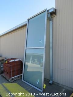 "American Glass LN9G1 Solarban 60 128""x50"" Window"