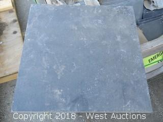 "(17) Boxes Of 12""x12"" Stone Tile"