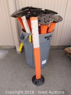 (18) Road Construction Pylons