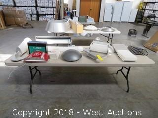 (12) Assorted Light Fixtures and Signs