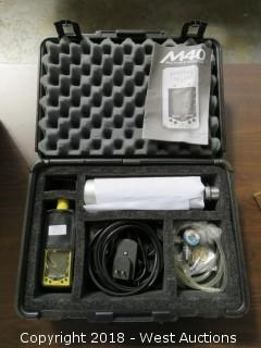 Industrial Specific M40 Multi-Gas Monitor Kit in Carry Case