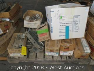 Pallet: (9)+ Boxes of Assorted Simpson Strong Ties