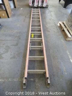 Werner 24' Fiberglass Extension Ladder