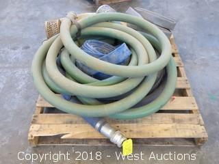 "(5) 2"" Water Hoses"