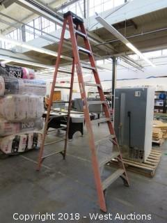 Werner 10' Fiberglass Folding Ladder
