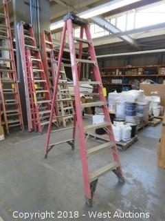 Werner 8' Fiberglass Folding Ladder