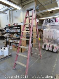 Louisville 8' Fiberglass Folding Ladder