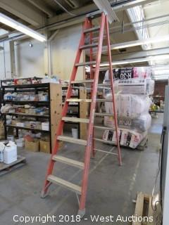 Louisville 10' Fiberglass Folding Ladder