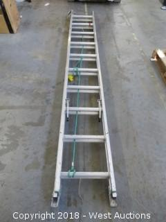 Werner 20' Aluminum Extension Ladder