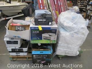 Pallet: (17) Used Office Printers