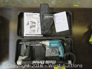 """Quick Drive 1-1/2""""-3"""" Decking Kit in Carry Case"""
