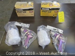 (2) 20 Oz. Gravity Feed Spray Guns
