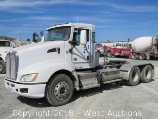 2013 Kenworth T660 3 Axle Truck