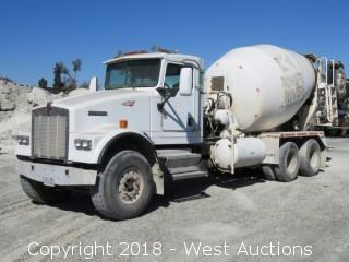 2005 Kenworth W900B Mixer Truck with McNeilus 11 Cy Mixer