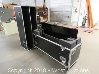 "(1) LG 55"" HD TV -- In Rolling Road Case"