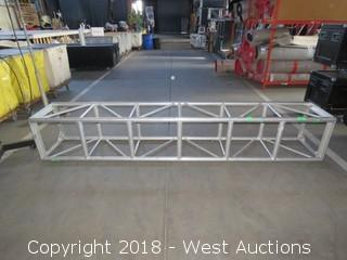 "Square Aluminum Lighting Truss 20.5"" x 20.5"" x 10'"