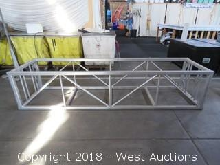 "Rectangular Aluminum Lighting Truss 15"" x 30"" x 10'"
