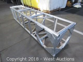 "Square Aluminum Lighting Truss 20.25"" x 20.25"" x  8'"
