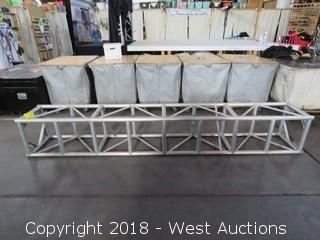 "Square Aluminum Lighting Truss 20.5"" x 20.5"" x 11'3"""