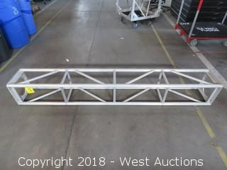 "Rectangular Aluminum Lighting Truss 12"" x 12"" x 7'"