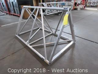 Triangular Aluminum Lighting Truss 4' L x 2.5'