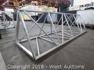 Triangular Aluminum Lighting Truss 8' L x 2.5'